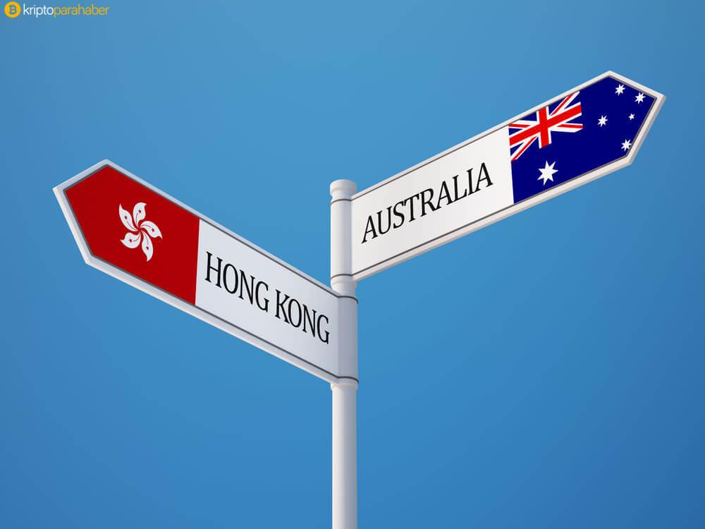 Hong Kong, avustralya, borsa, blockchain, blockchain haberleri