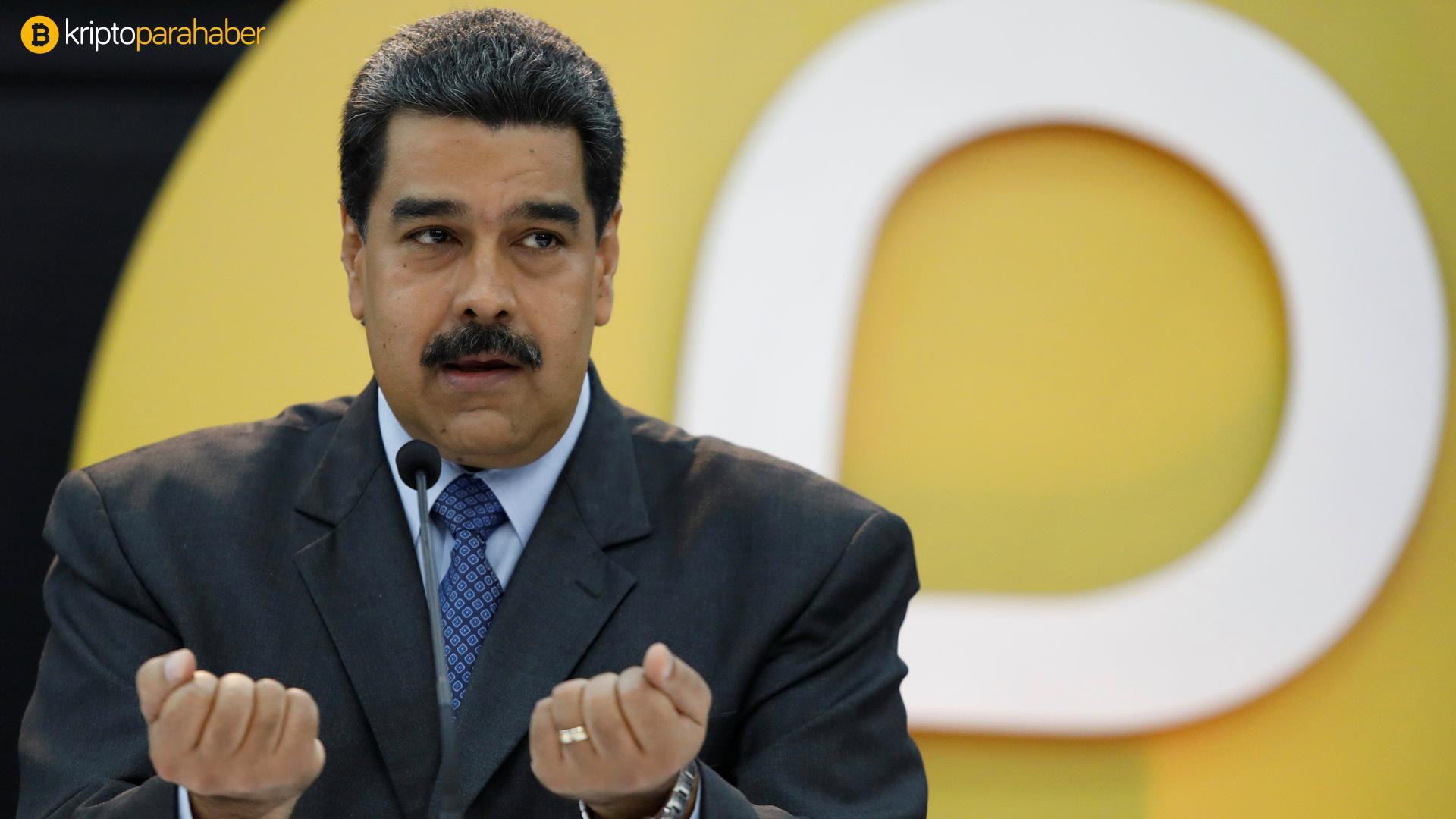 """ABD'den Nicolas Maduro hakkında suç duyurusu: """"Kripto para kullanarak ağır suçlar işlediler."""""""