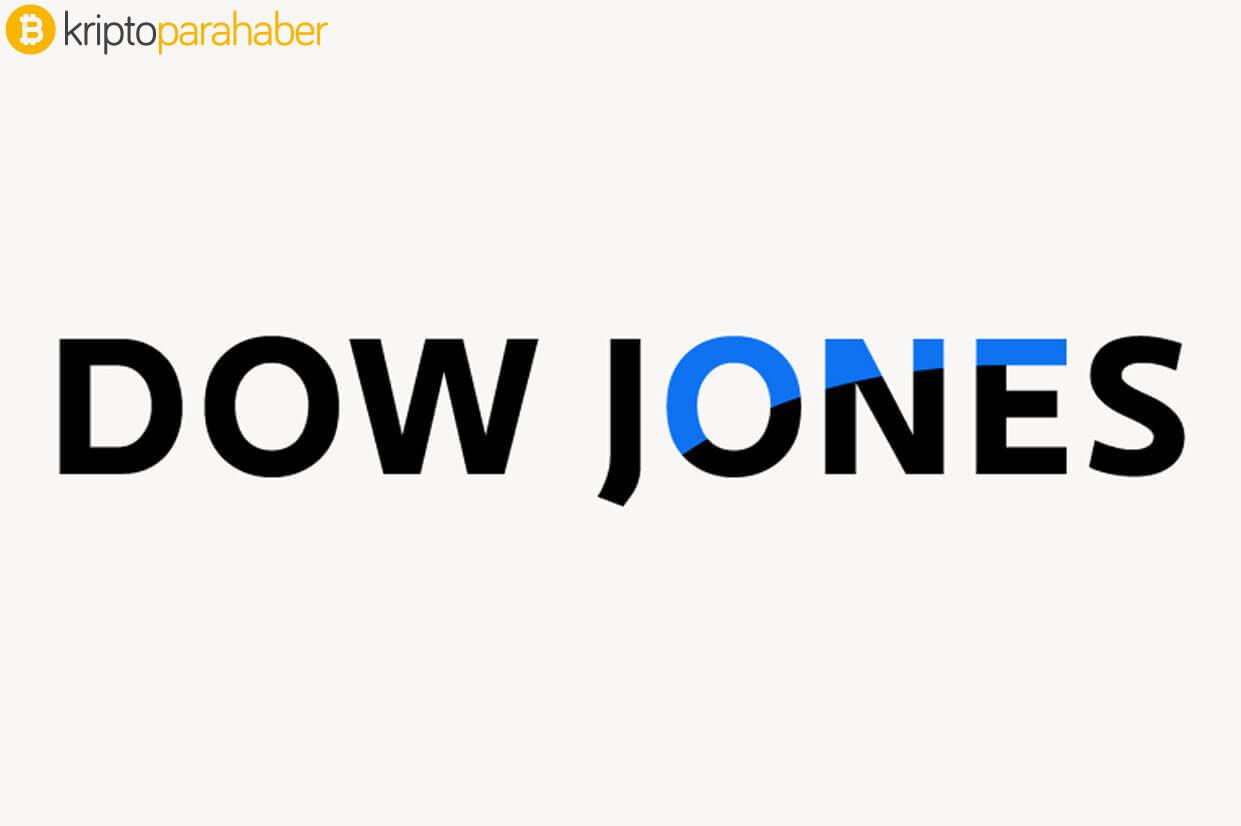 Dow Jones endeksinin düşüşü