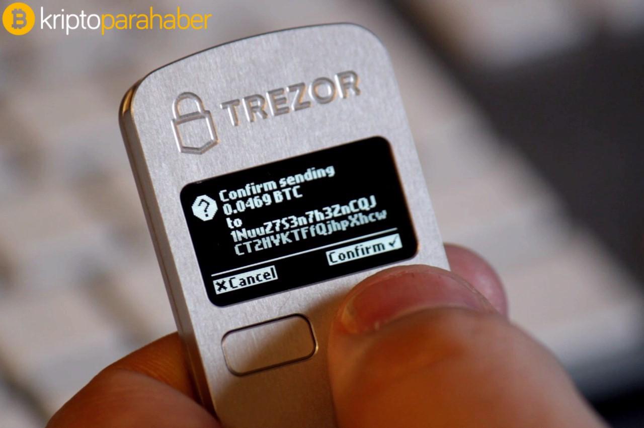 Trezor kripto cüzdanından kullanıcılarına önemli uyarı