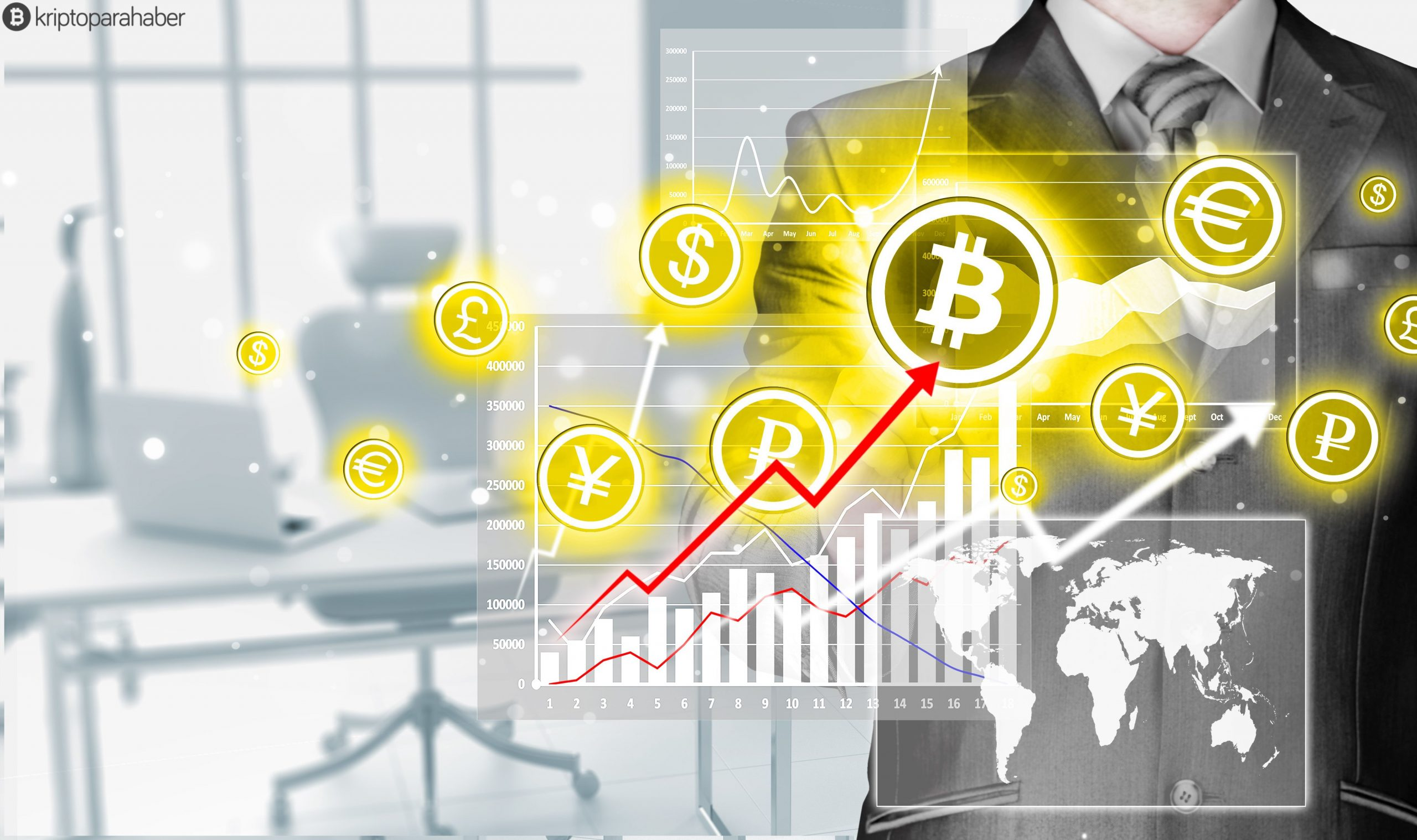 Bitcoin ticaret hacmi, üç ülkede tüm zaman en yüksek seviyesine ulaşıyor