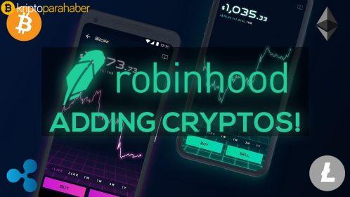 Robinhood Crypto komisyonsuz kripto para ticareti sunuyor