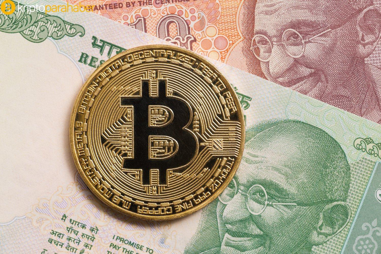 Hindistan, Bitcoin P2P ticaret hacminde Çin'i devirmek üzere