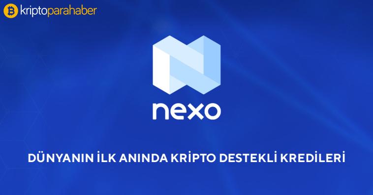 nexo kripto kredi sağlayıcısı