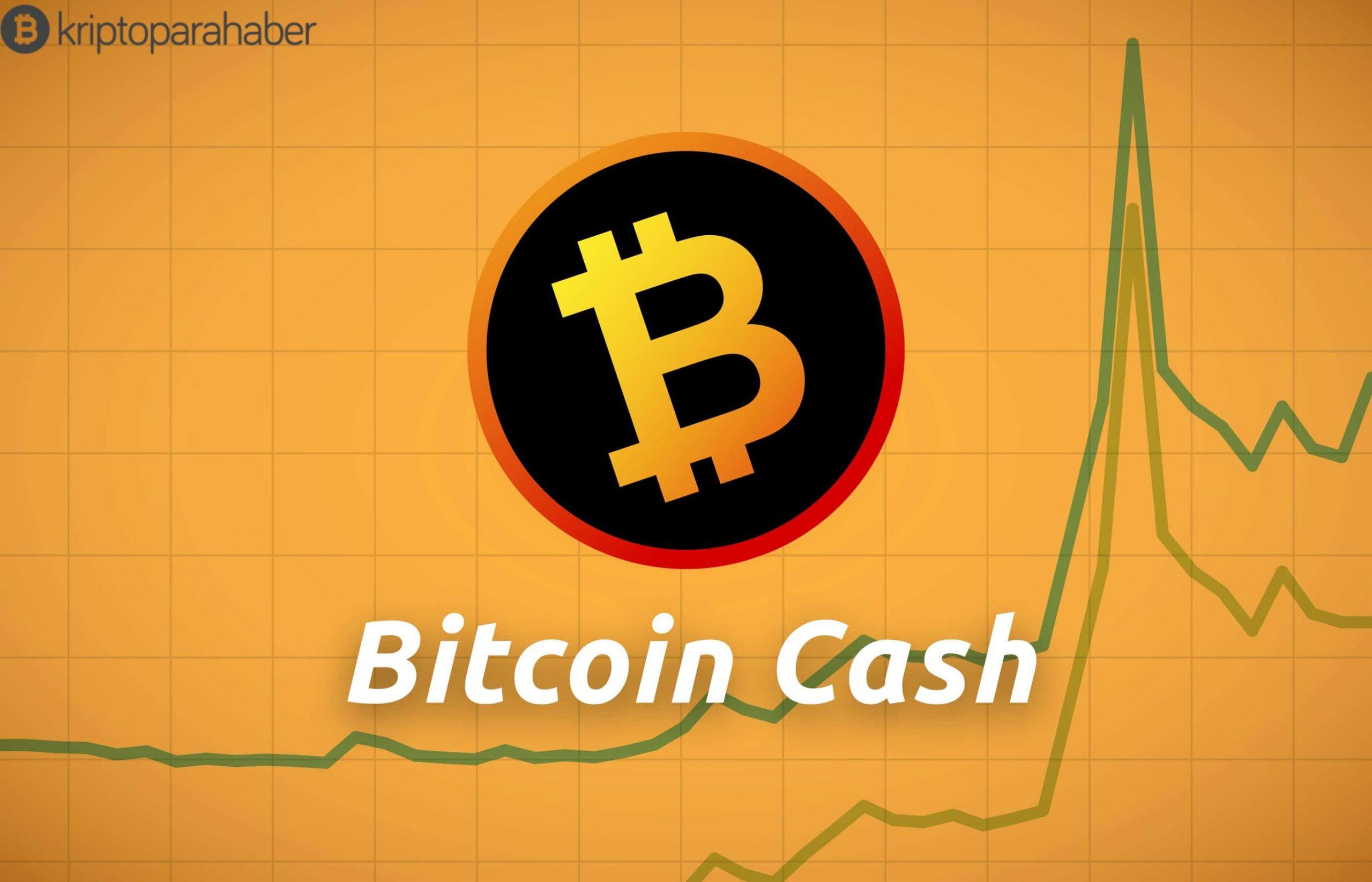 Bitcoin Cash yatırımcıların beklentileriyle uyumlu olarak iyileşiyor