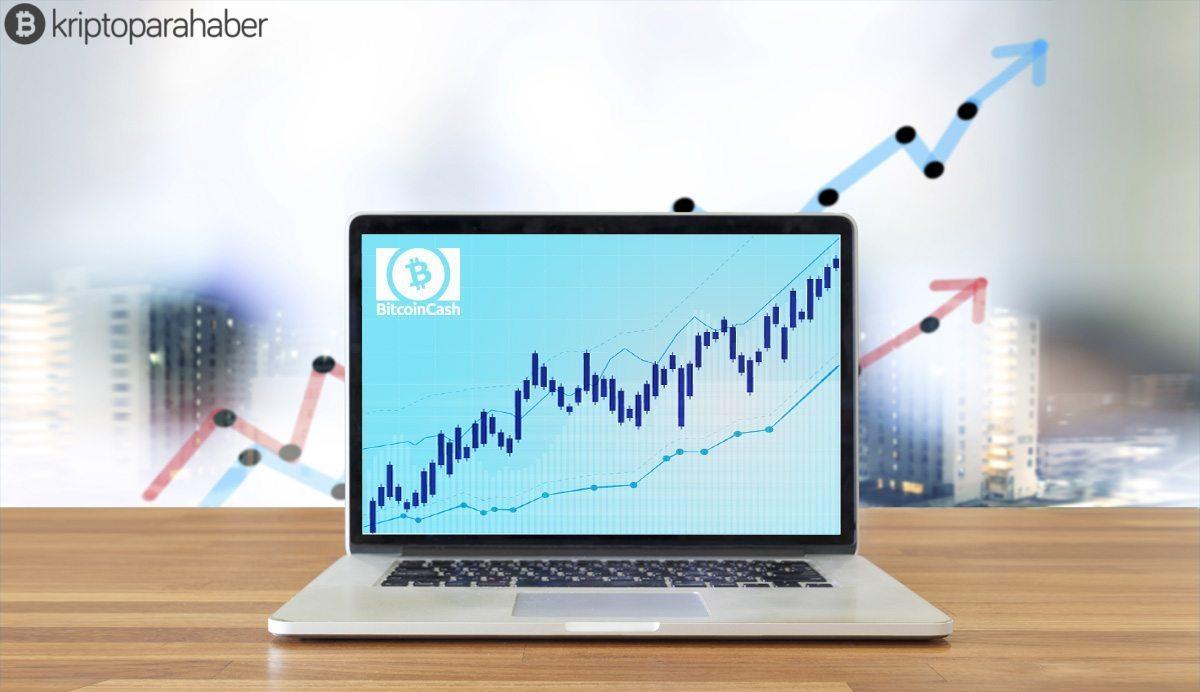 Bitcoin Cash pozitif işaretler göstererek işlem görüyor