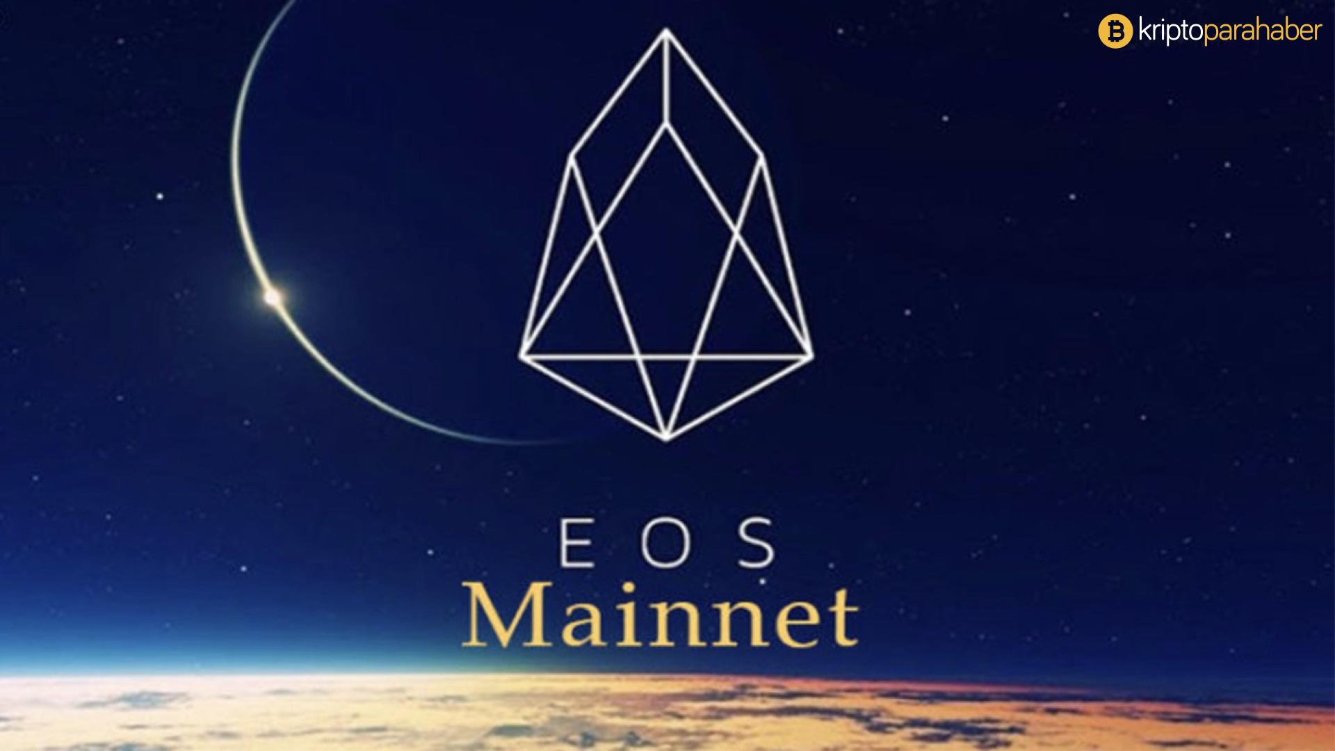 EOS MainNet neden dondu?