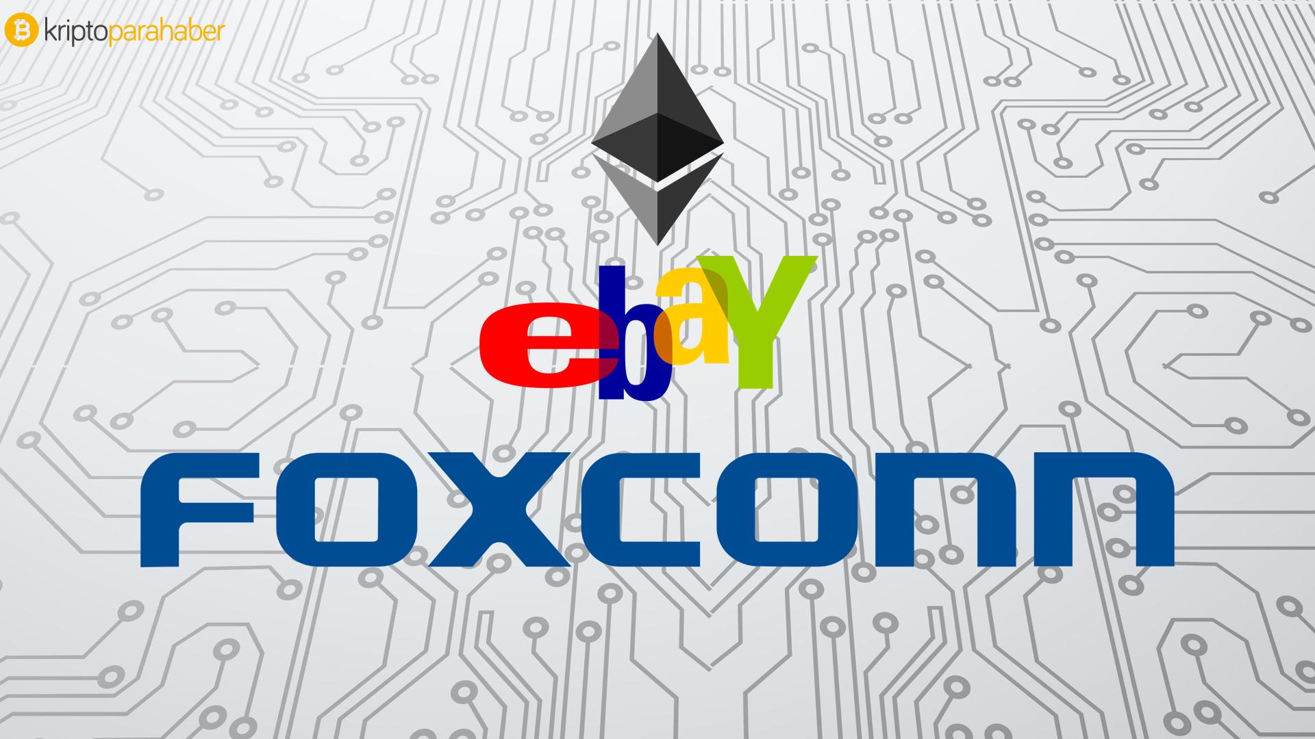 Ebay ve Foxconn Enterprise Ethereum Allience'a (EEA) katıldı