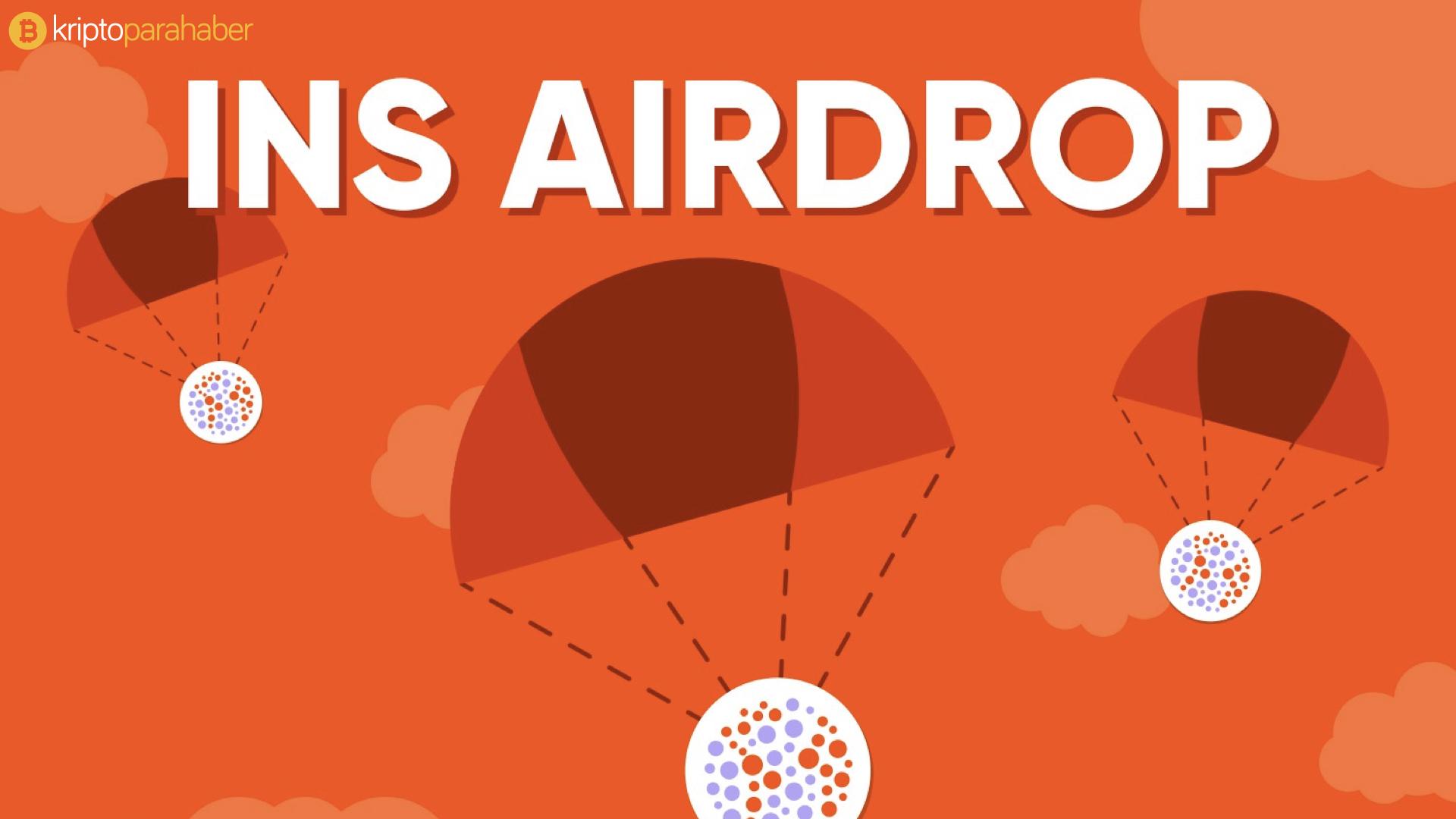 INS Ecosystem airdrop yapacak.