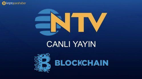 NTV canlı yayınında Blockchain konuşuldu.
