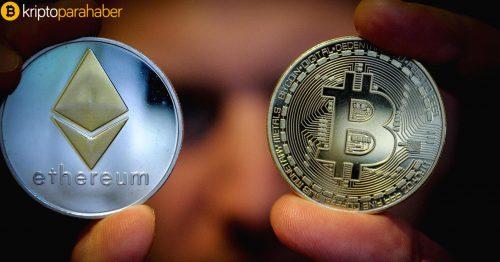 Kripto tarihinde bir ilk: Ethereum Bitcoin'i geçti!