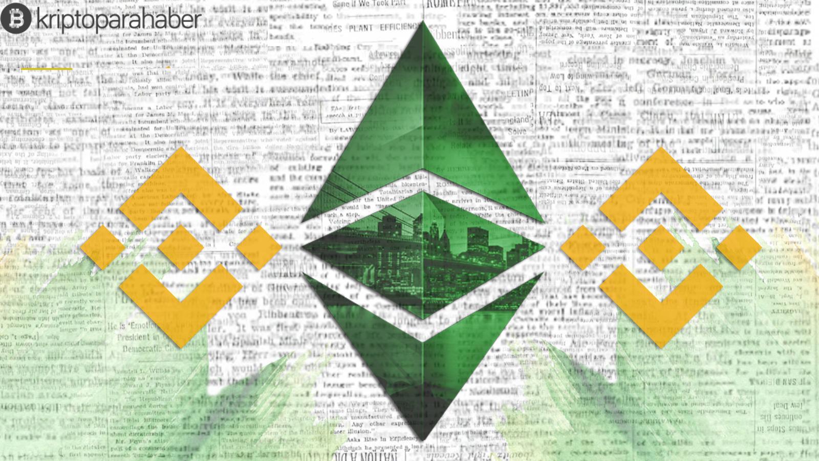 Ethereum Classic (ETC) Binance Coin'i sıralama olarak geride bıraktı