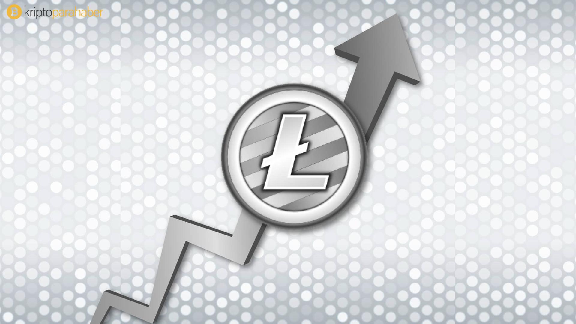 Litecoin de partiye katıldı: 24 saatte yüzde 15 yükseldi