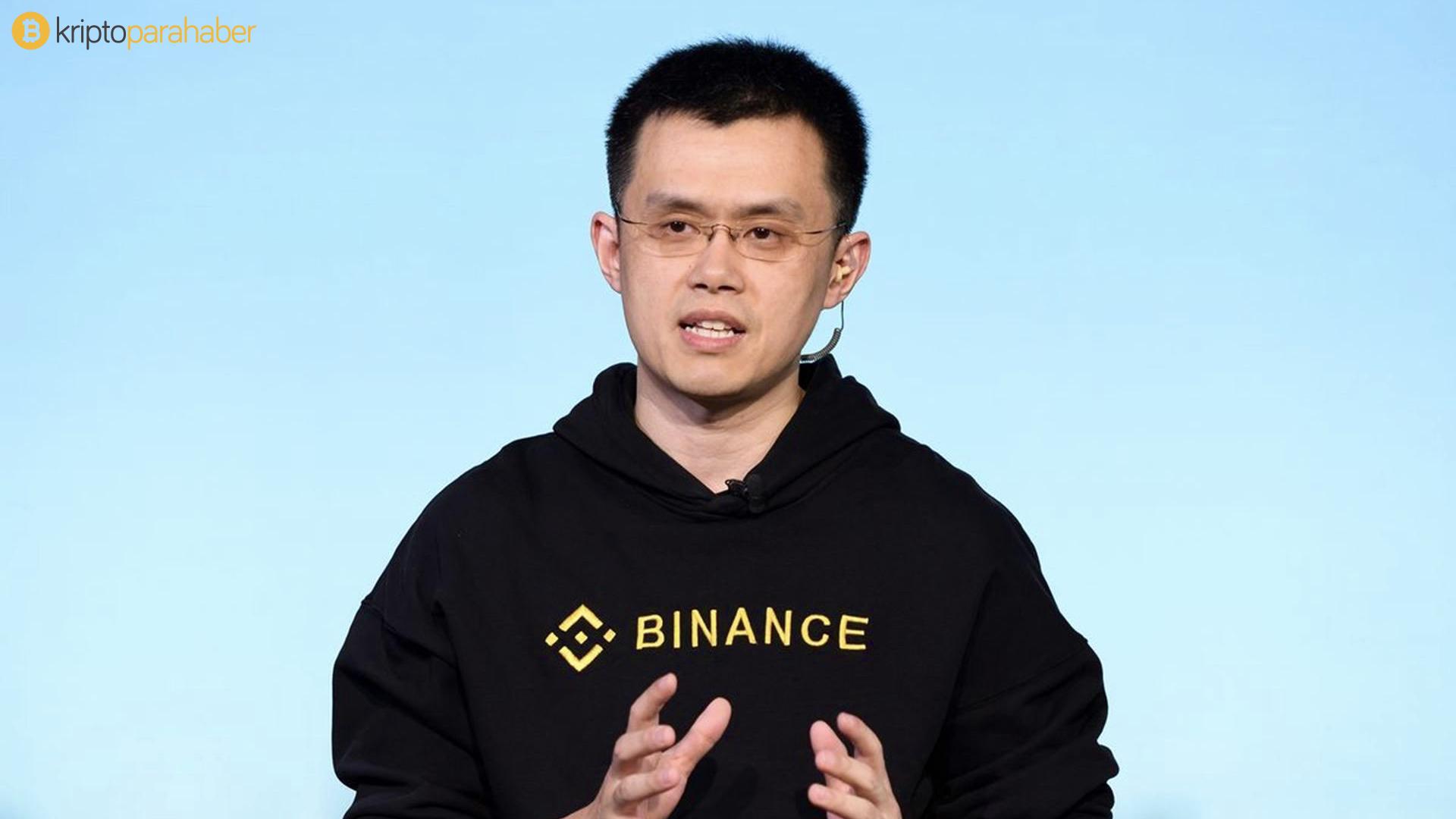 Binance CEO'su Changpeng Zhao, Bitcoin piyasasının Tesla ve Apple hisseleri gibi varlıklardan daha az değişken olduğunu iddia etti.