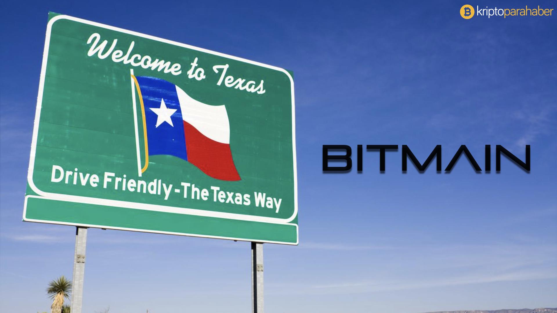 Bitmain Teksas eyaletinde bir tesis kuruyor.