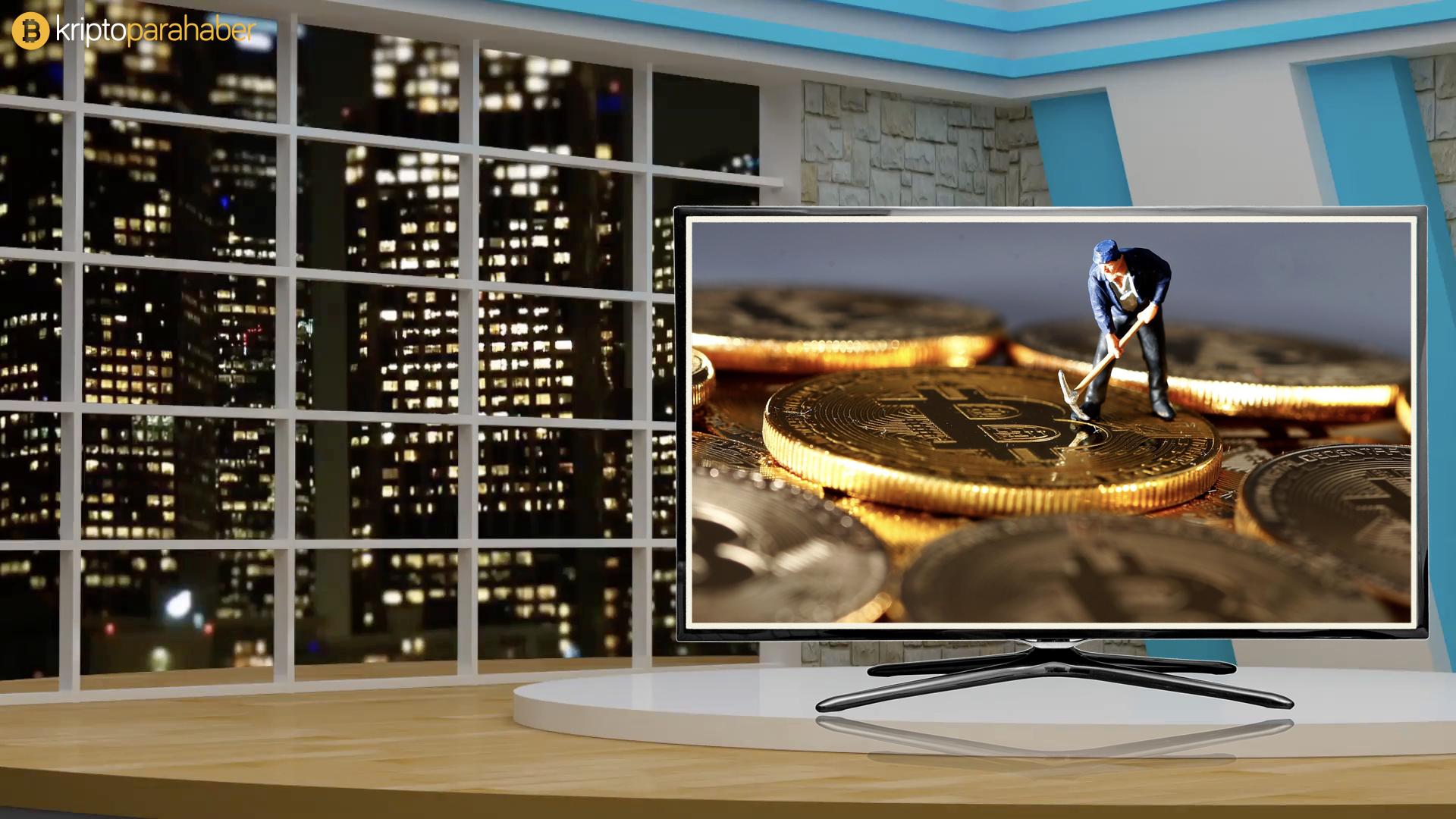 Canaan dünyanın ilk Bitcoin madenciliği televizyonunu tanıttı.