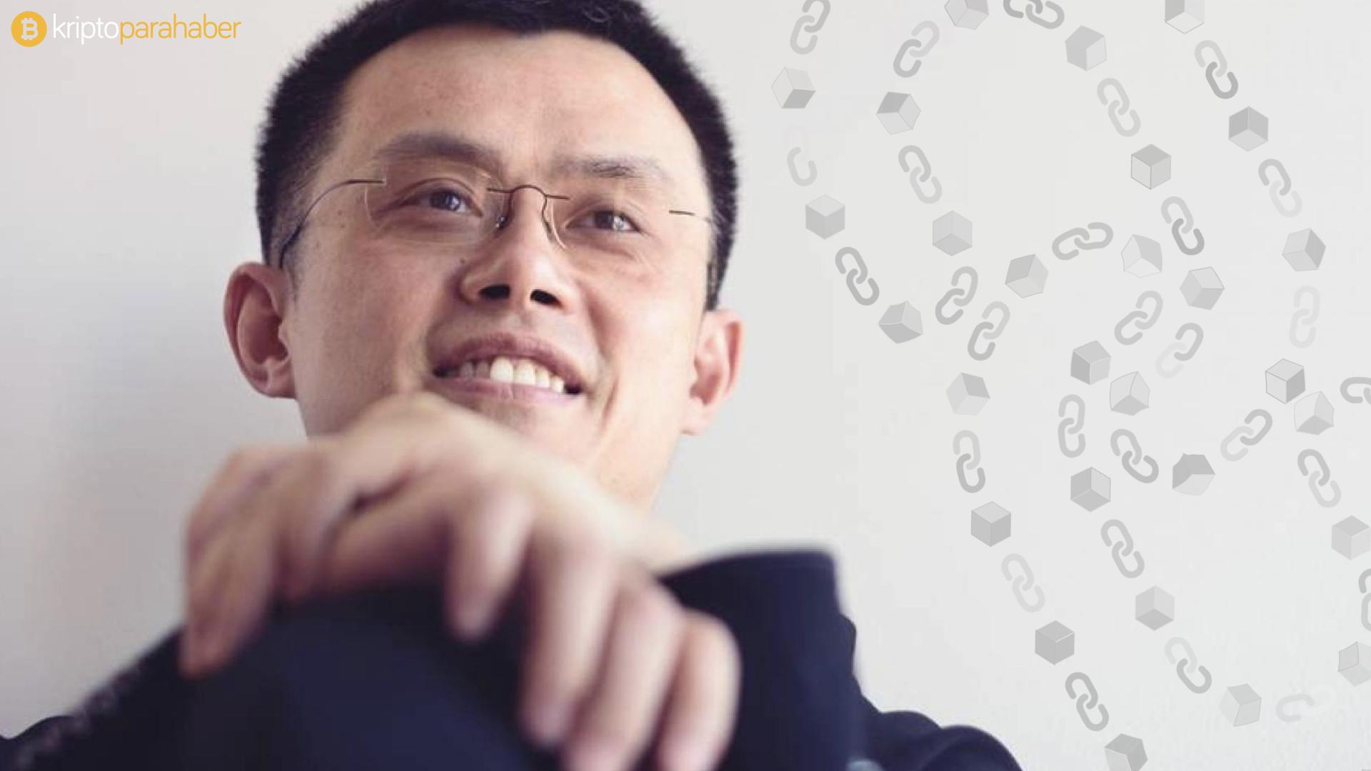 """CZ: """"Çin'in CBDC hamlesi yuan için 'baskın para' olmanın önünü açtı."""""""