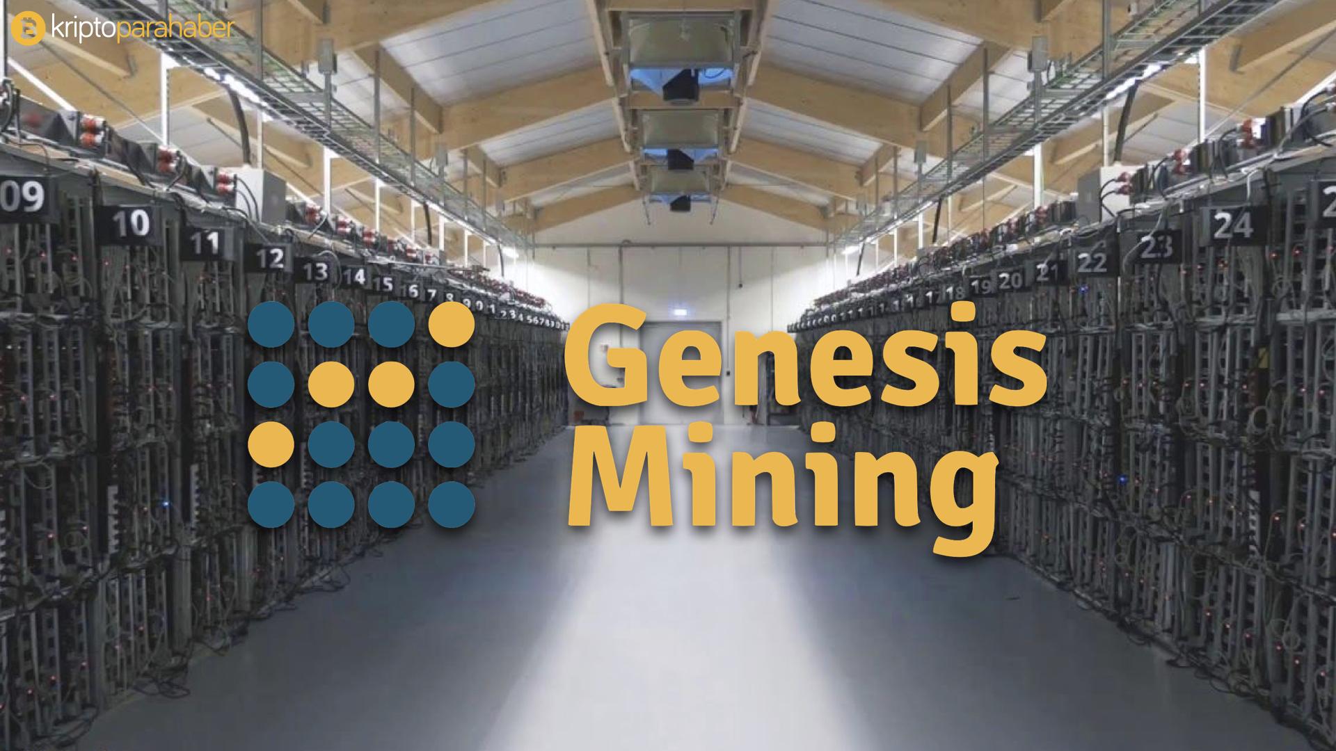 Genesis Mining düşük seviyedeki sözleşmeleri sonlandıracak.
