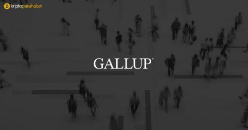 Gallup'a göre Bitcoin büyüme olasılığı taşıyor