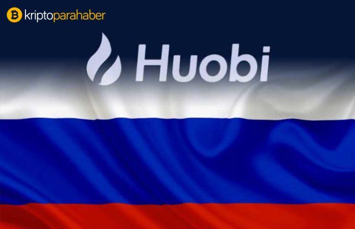 Huobi Borsası Rus pazarında önemli bir fırsat görünüyor