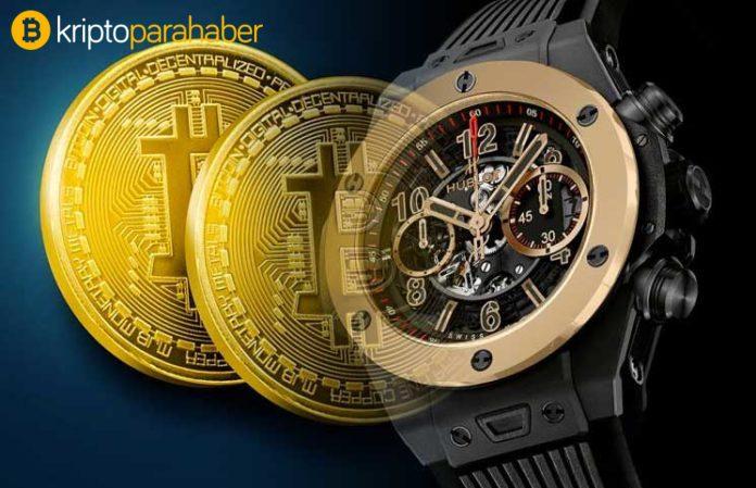 Lüks saat markası Hublot yeni modeli sadece Bitcoin karşılığında satacak