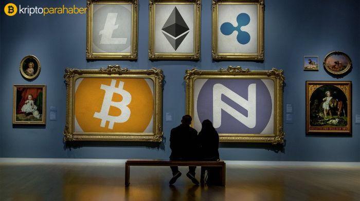 Bitcoin'den ilham alan sanat eseri 100 bin dolara satıldı