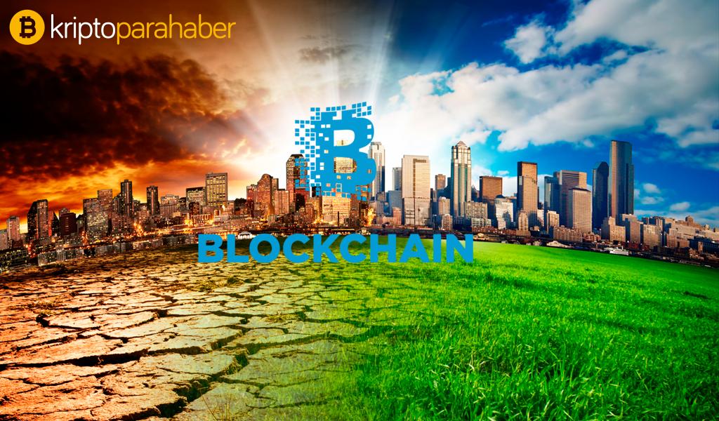 Blockchain, iklim değişikliği için temiz yöntemlerle elektrik üretebilir