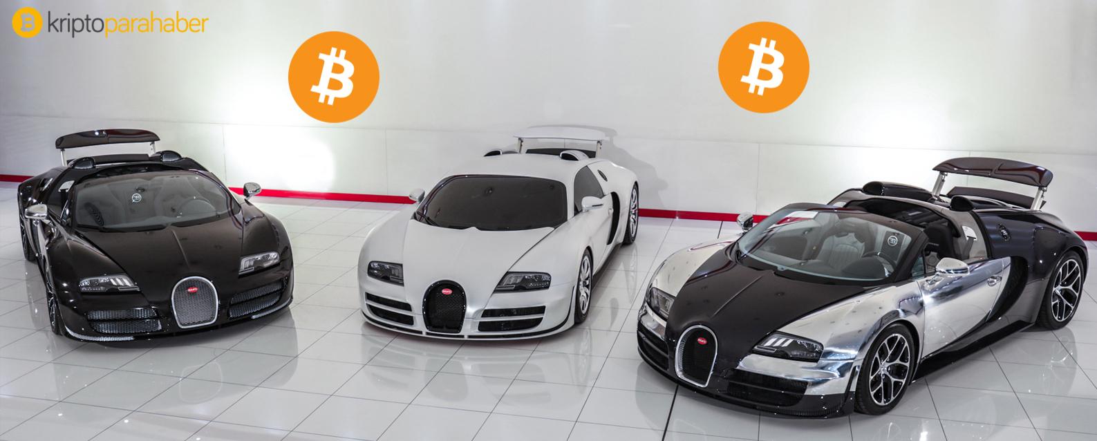 Bitcoin ile Rolls Royce, Bentley ve Bugatti BitPay üzerinden satılacak
