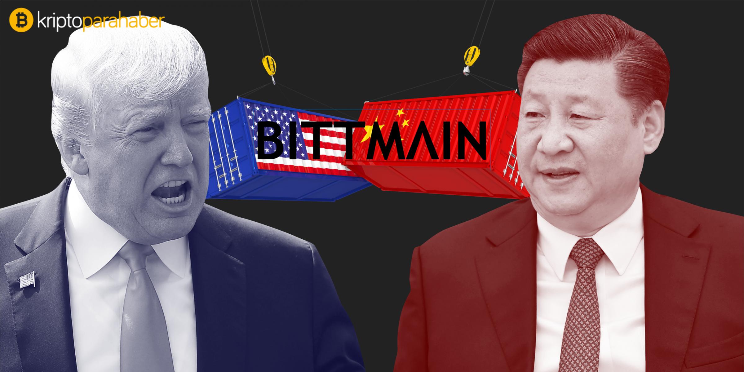 Çin ile ABD'nin ticaret savaşı, Bitmain'i olumsuz etkiliyor