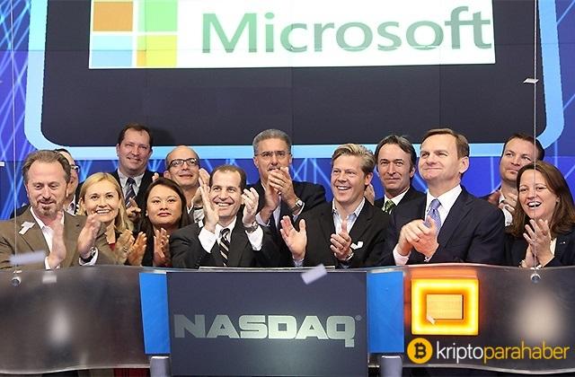Microsoft ve Nasdaq, Blockchain tabanlı yazılım sunacak