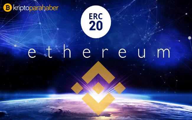 Binance ERC 20 token problemini, kendi sistemsel yapısı ile çözdü