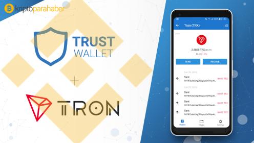 Trust Wallet, TRON (TRX) desteğini duyurdu