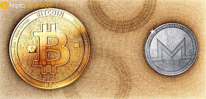Monero ve Bitcoin karşılaştırması