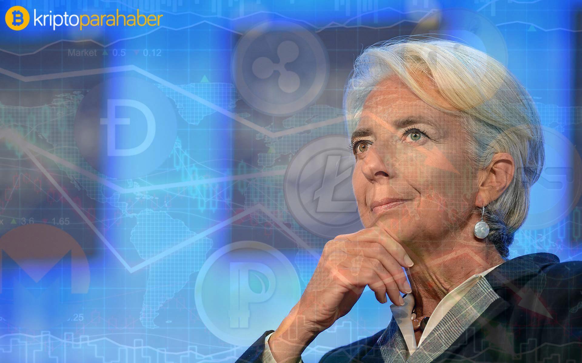 ECB Başkanı Lagarde'dan dijital euro ilgili kritik açıklamalar