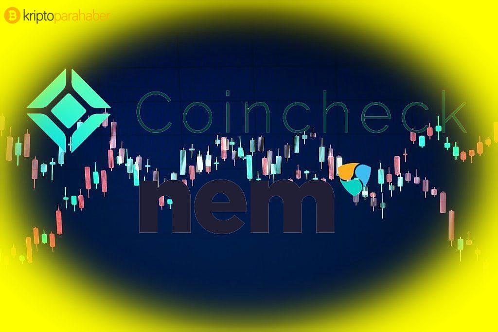 NEM (XEM) fiyatı, Coincheck'in etkisi ile değer kazandı