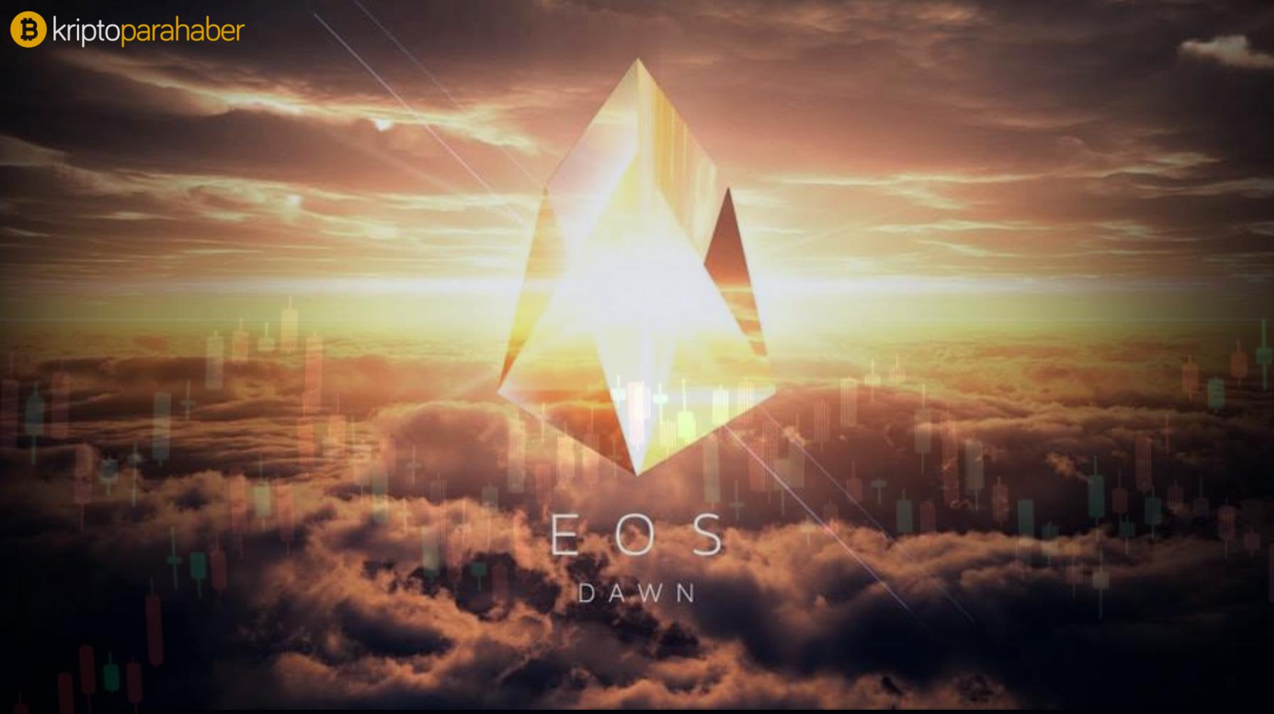 EOS fiyatı düşerken 700 milyon dolarlık piyasa değerini de kaybediyor