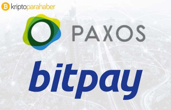 Artık Paxos Standard Token (PAX) BitPay'da!
