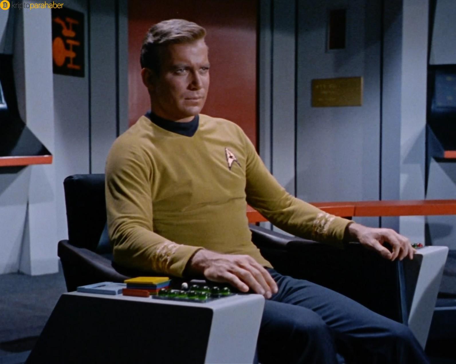 Kaptan Kirk, Ethereum'u ve Vitalik Buterin'i destekliyor!