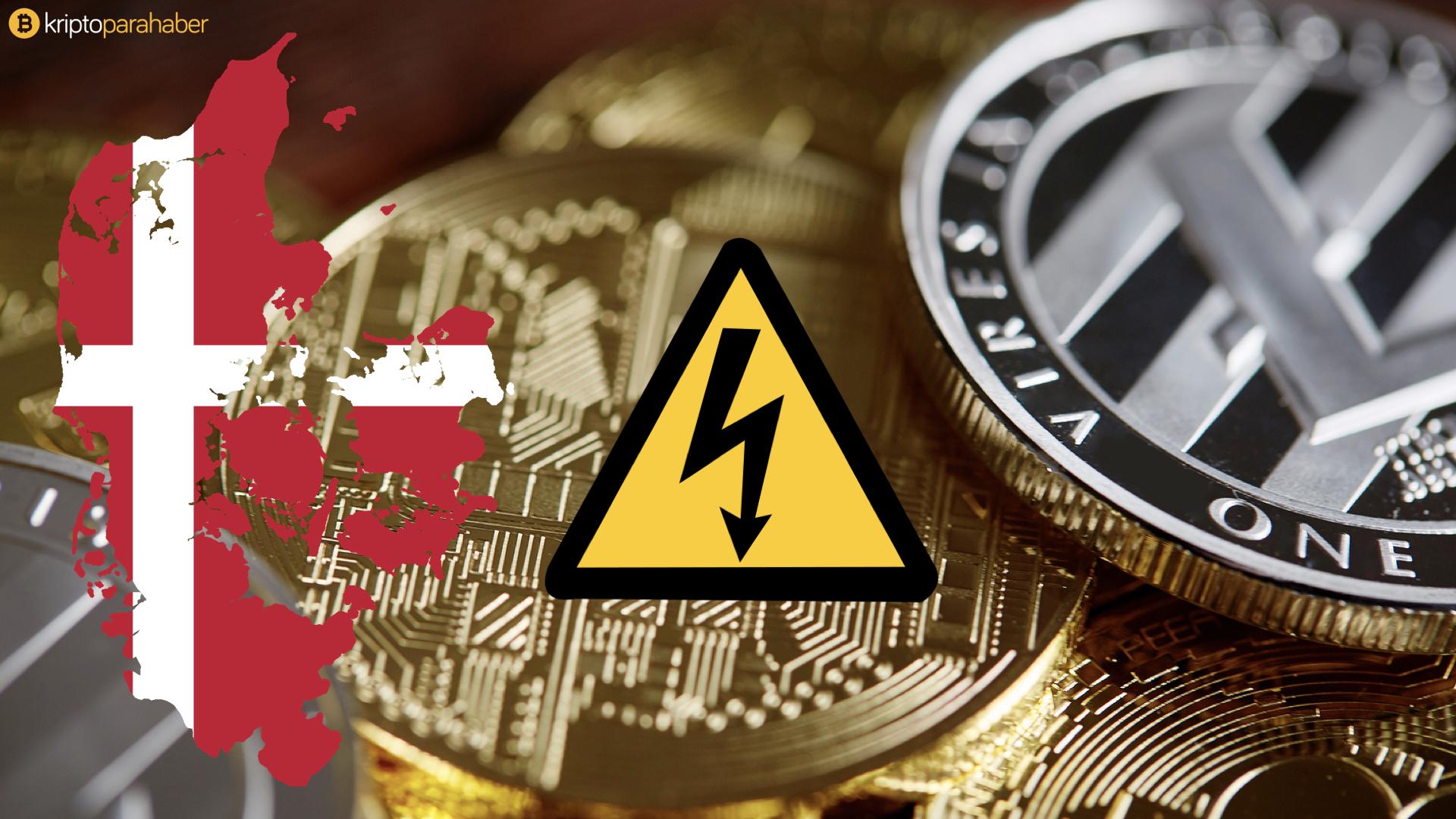 Bitcoin madenciliği Danimarka kadar enerji tüketiyor