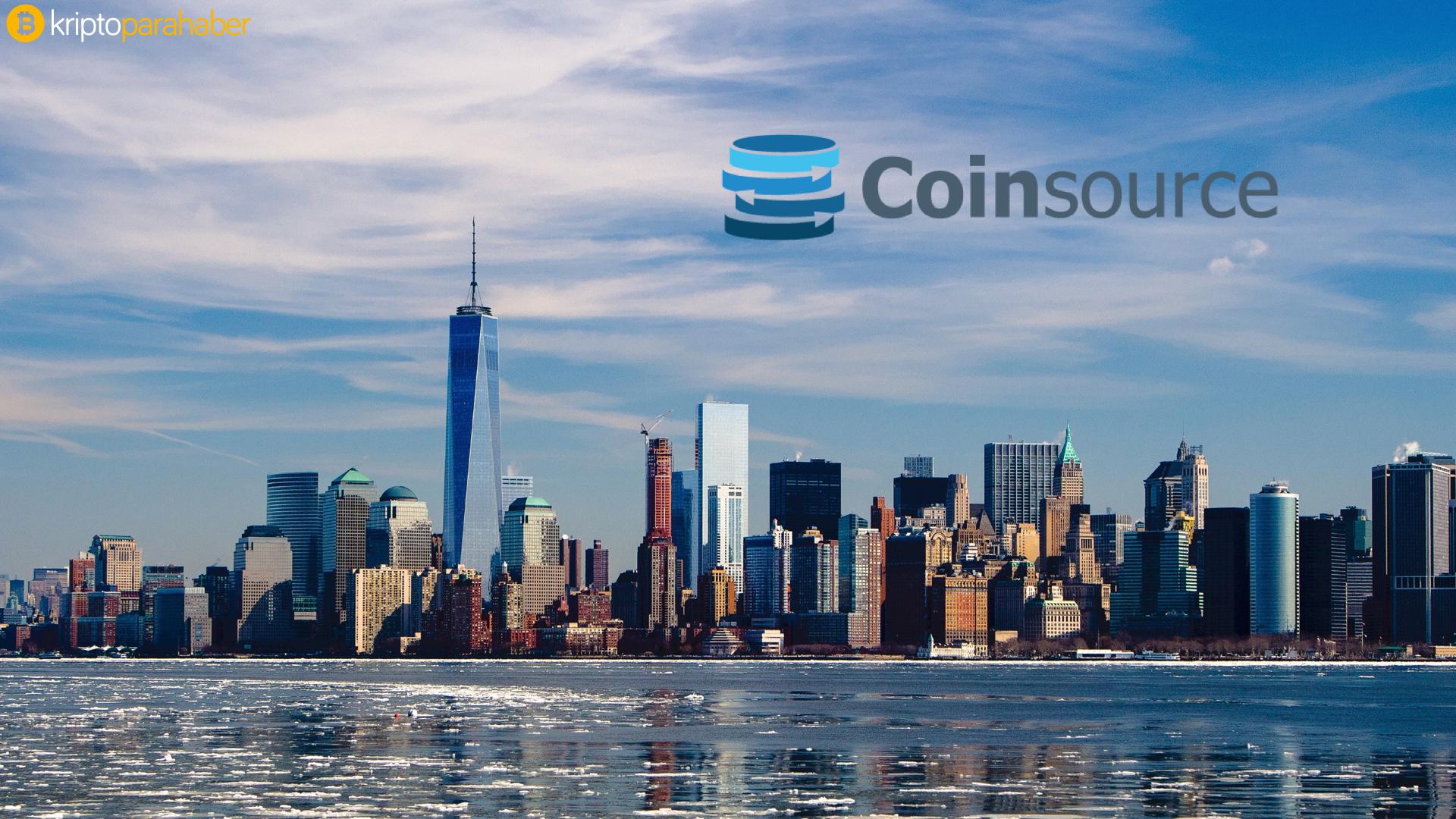 New York Bitcoin ATM'lerine Coinsource ile kavuşuyor