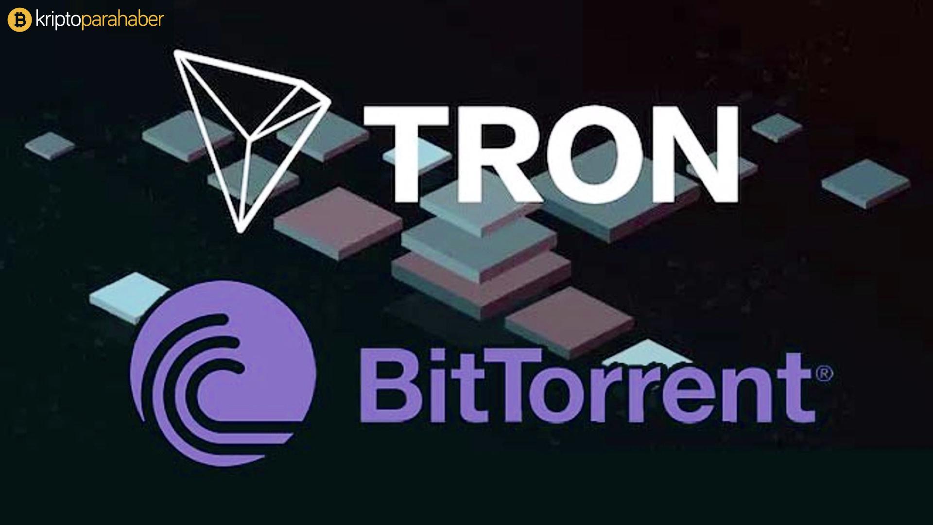 TRON ve BitTorrent dev reklamcılık hamlesiyle gündemde.