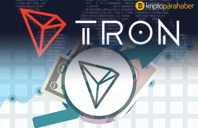 TRON (TRX) gelişmeye devam ediyor