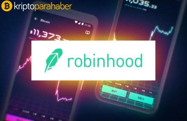 6 milyon yeni kullanıcı 2021'de Robinhood'dan kripto para satın aldı