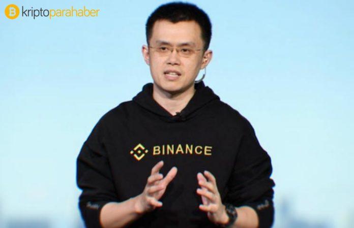 Binance CEO'su Bitcoin'e açık desteğini duyurdu