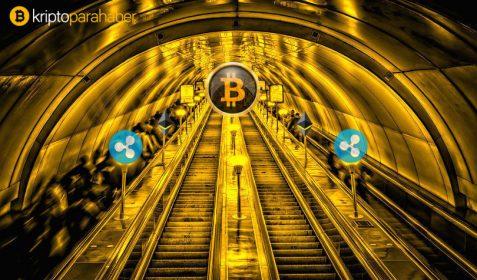 Bakın Bitcoin, Ripple'ı hangi konuda 100x geçti!