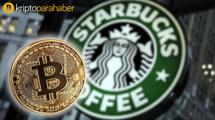 Starbuck kripto para ödemelerini kabul etmeye başlıyor