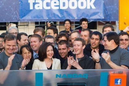 Facebook 2012'de IPO gerçekleştirdi.