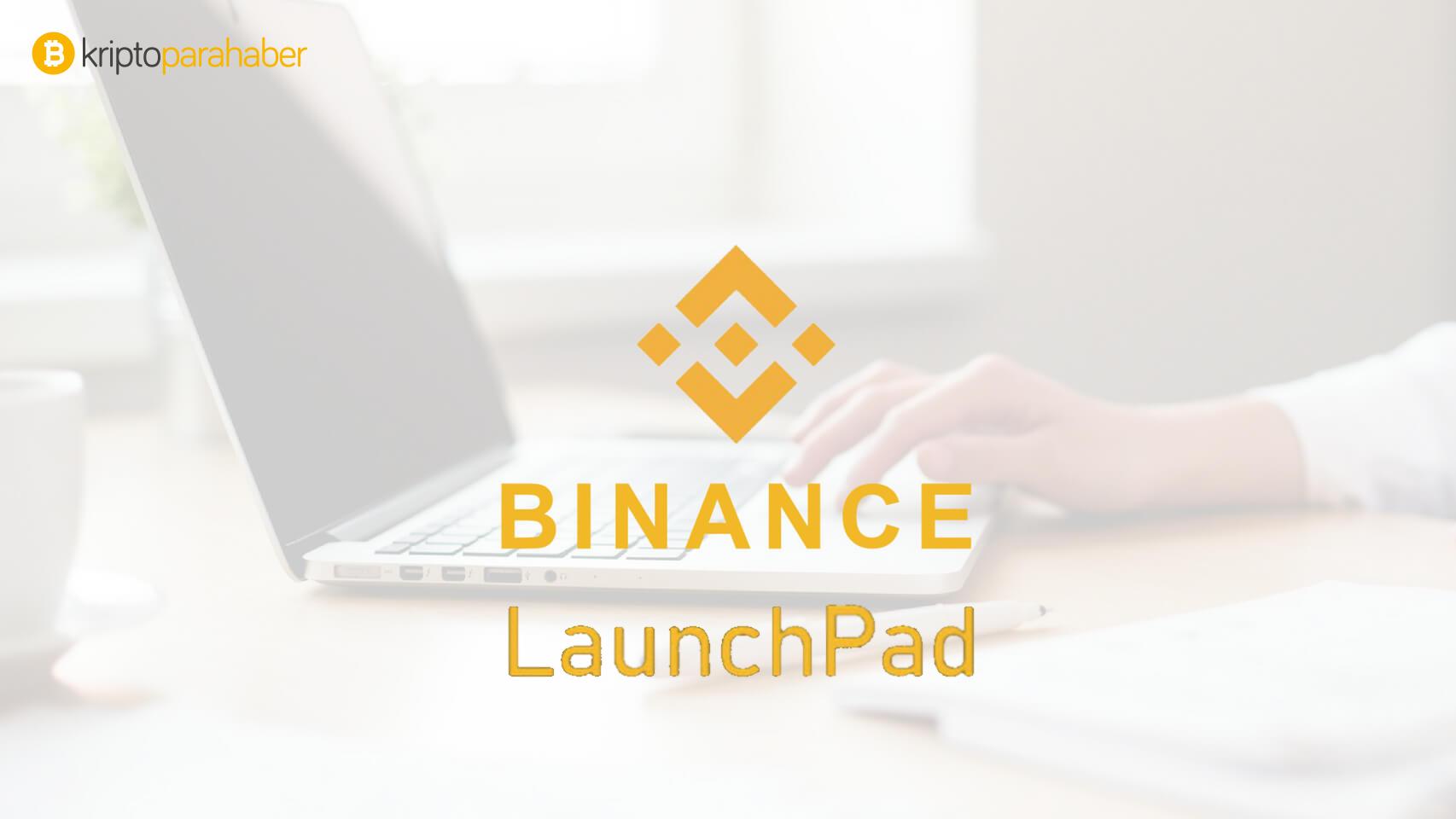 Binance Launchpad'de satışı yapılacak bir sonraki kripto para projesi açıklandı