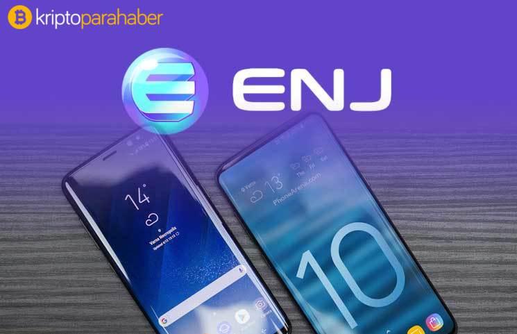 Samsung Galaxy S10 ve Enjin Coin ortaklığı: Söylenti ENJ'ye pump yaptırdı