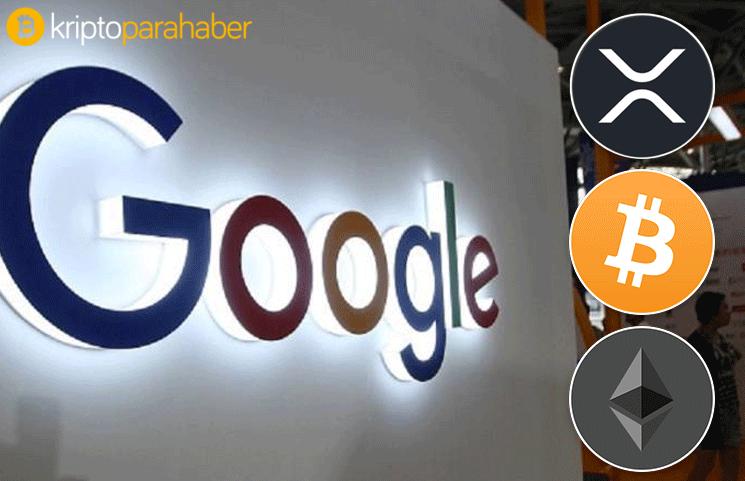 """Google'da """"kripto para"""" konulu aramalar tüm zamanlar zirvesine ulaştı"""